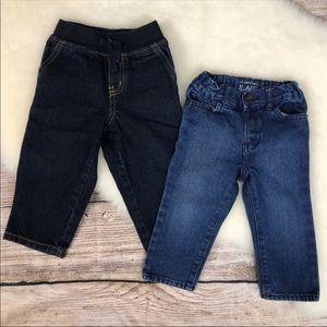 Lot 2 24 m Children's Place & Gymboree Denim Jeans